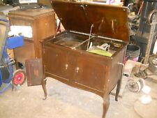 Antique Wyman Phonograph by Wyman Piano Co Works