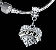 Twirl gift Twirling Jewelry Twirl best Present Twirling charm Only Best twirl