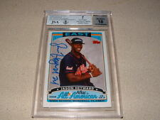 2006 TOPPS JASON HEYWARD AFLAC AUTO,SIGNED ROOKIE CARD JSA / BGS GRADED-SEE PICS