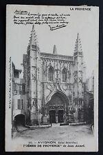 Carte postale ancienne CPA AVIGNON - Eglise Saint Paul