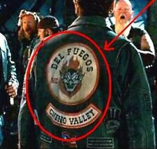 WILD HOGS OUTLAW MC GANG COLLECTIONS: DEL FUEGOS CHINO VALLEY MC JACKET BACK SET