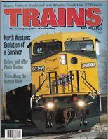 "[43822] ""TRAINS"" MAGAZINE APRIL 1994 VOL. 54, No. 4 ""NORTH WESTERN RAILROAD"""