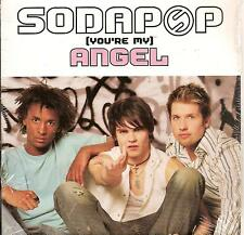 SODAPOP - angel CD SINGLE 2TR europop 2003 BELGIUM RARE