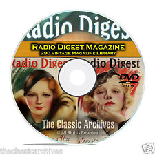 Radio Digest Magazine, 290 Vintage Old Time Radio Magazine Collection DVD B92