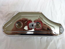 HARLEY SPORTSTER 1000/1200/883  1980 thru 2003 CHROME REAR MASTER CYLINDER COVER