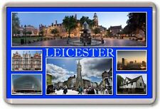 FRIDGE MAGNET - LEICESTER - Large - Leicestershire TOURIST