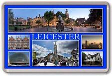 FRIDGE MAGNET - LEICESTER - Large - Leicestershire TOURIST