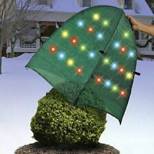 Decortive Outdoor Christmas/Holiday Lights Bush Cover w/50 LED LIGHTS FREE SHIP