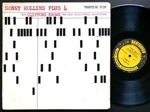 SONNY ROLLINS Plus 4 LP PRESTIGE PRLP 7038 US 1958 NJ RVG DG MONO Clifford Brown