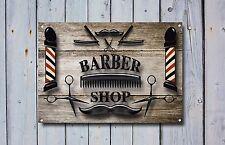 Barber Shop Sign, Metal Sign, Barber Shop Signs, Modern Style, Barber Shop, 863