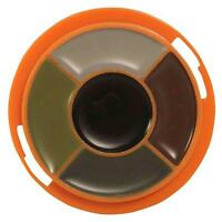 Dead Down Wind Ambush 5-Color Camo Paint Wheel in Carry Case with Mirror #1201