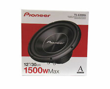 Pioneer  TS-A300D4 12-Inch, 4 Ohms, Dual Voice Coil Car Component Subwoofer