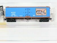 N Scale MTL Micro-Trains 47340 PCEX Pepsi-Cola 40' Double Sheathed Reefer #4702