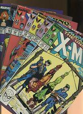 Uncanny X-Men 236,237,238,239,240,241,242 * 7 Book Lot * 1st Mr. Sinister Cover!
