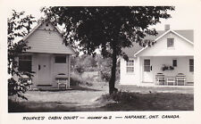 RP: Rourke's Cabin Court , NAPANEE , Ontario , Canada , 30-40s
