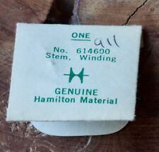 614600 for Hamilton grades 911 911M Vintage Hamilton watch Nos winding stem