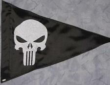 Custom Triangle Punisher Safety Flag 4 ATV Jeep Recumbent  bike UTV Whip Pole