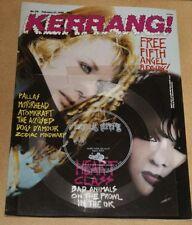 KERRANG UK MAGAZINE 1988 HEART+PALLAS+MOTORHEAD+ATOMKRAFT+DOGS DAMOUR+ZODIAC