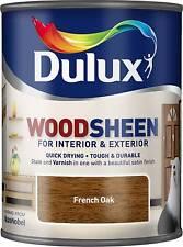 Dulux Woodsheen - French Oak - 750ml - Interior & Exterior - Woodstain