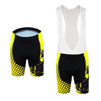 Men's Bike Bicycle Shorts Padded Cycling Shorts / Bib Shorts Knicks Yellow S-5XL
