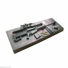1:6 Barrett M82A1 Sniper Rifle Dismountable Metal Gun Model F 12'' Action Figure