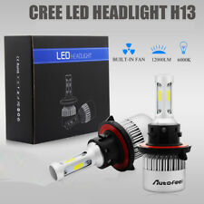 H13 9008 1500W 225000LM CREE LED Headlight Kit Hi/Lo Beam Bulb White 6000K Power