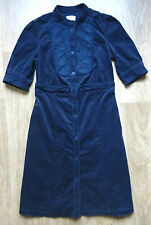 Lovely NOA NOA Womens Navy Velvet Dress , Size  L ,GREAT condition !!!