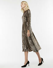 Monsoon Saturn Sequin Midi Dress UK Size ( 22 ) RRP - £160