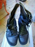 ORIGINAL S/H GP BOOTS AUSTRALIAN MADE ARMY SIZE 8E HIGHMARK USED ORIGINAL VGC