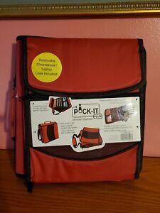 """Pock-It Plus Ultimate Organizer 4"""" Zipper Binder W/ Chromebook Case"""