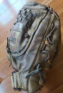 "NOKONA AMG700 14"" Senior Softball Baseball Glove MadeinUSA Great Cond. Restrung"