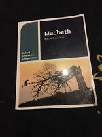 Oxford Literature Companions: Macbeth by Su Fielder, Peter Buckroyd (Paperback,