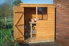 Forest Timber 6x4 DIP Treated Pent Wooden Garden Tool Shed