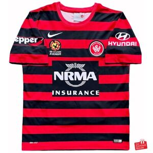 Authentic Nike Western Sydney Wanderers 2014/15 Home Jersey. Size L, Great Cond.