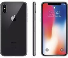 New! Apple iPhone X 256GB Space Gray In Box Mint Condition - Unlocked