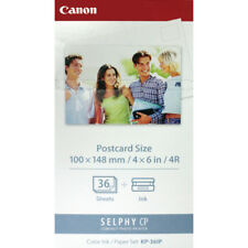Canon KP-36IP SELPHY Colour Inkjet Cartridge and Papers 100x148mm Tri-Pack6/1 Ca
