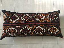 Turkish Grain Sack Bolster Floor Pillow