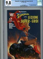 Supergirl And The Legion Of Super-Heroes #23 Italian Ed Adam Hughes, CGC 9.8