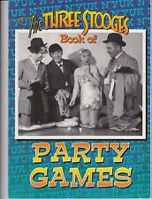 Three Stooges Party Book by Matt Kavet (1997, Paperback)