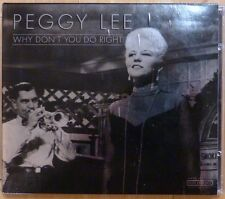 Why Don't You Do Right by Peggy Lee (Import CD) Slipcase