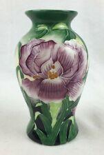 "BENAYA Vase By Innovation - 6"" Height - Moorcroft-Style Floral Pattern - Ng '06"