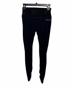 Gymshark Whitney Simmons V2 Rib Waist Legging Black Leggings Women's Size Medium