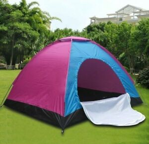 6-7 Man Person Camping Tent Waterproof Room Outdoor Hiking Backpack Fishing