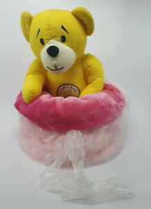 Dog Cat Pet Bed Calming Comfy Cosy Warm Furry Nest Mattress Fur Pink/Dark Pink