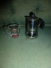 Alt Coffeemaker, Kaffeemaschine, Espressomaschine Italien DESIGN VEV gebraucht