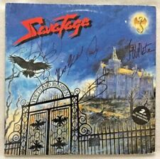"Autographed Savatage (TSO) ""Poets And Madmen"" 2 LP Picture Discs German Import"