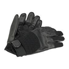 Biltwell Bantam Motorrad Handschuhe, Leder Synthetik Mix, schwarz Größe S