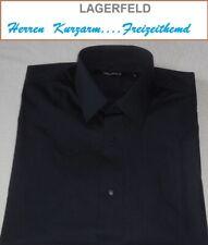Karl Lagerfeld >>>   HERREN   FREIZEITHEMD  kurzarm  Gr. L / 41