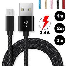 Original 1m 2m 3m USB Cargador Cable De Datos Carga para iPhone Samsung Huawei