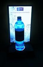 Selters Mineralwasser Wasser Leucht Reklame Werbe Glorifier Schiefersockel LED
